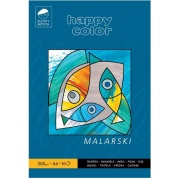 HAPPY COLOR BLOK MALARSKI 200 g. A4