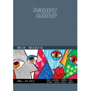 HAPPY COLOR BLOK MIX MEDIA A4