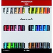 TALENS AMSTERDAM ACRYLIC COLOR STANDARD SERIES SET 36X20ml