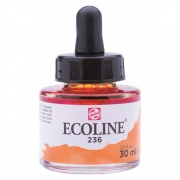 TALENS ECOLINE 30 ml 236 - LIGHT ORANGE - koncentrat farby wodnej