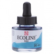 TALENS ECOLINE 30 ml 522 - TURQUISE BLUE - koncentrat farby wodnej