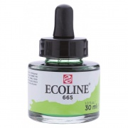 TALENS ECOLINE 30 ml 665 - SPRING GREEN - koncentrat farby wodnej